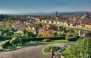 Парк во Флоренции