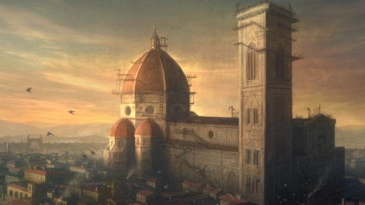 Санта Мария дель Фьоре — самое известное флорентийское сооружение 14-го века