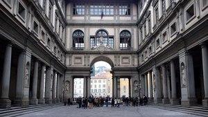 Картинная галерея Уффицы во Флоренции