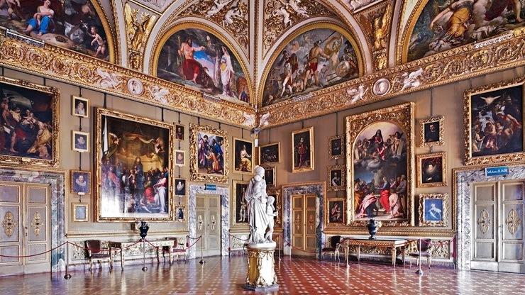 Галерея Палатина в Палаццо Питти