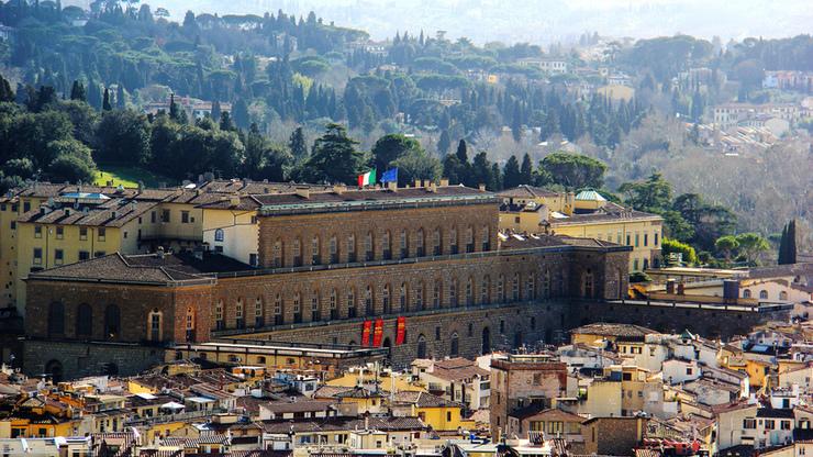 Палаццо Питти во Флоренции - грандиозный музейный комплекс