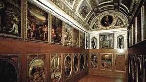 Кабинет Франческо Медичи в Палаццо Веккьо содержит многочисленные тайники