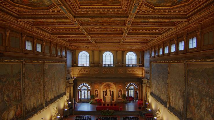 Зал Пятисот в Палаццо Веккьо