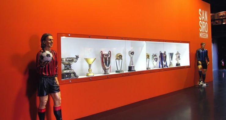 Музей стадиона Сан-Сиро содержит более 3000 экспонатов
