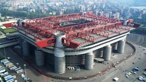 Стадион Сан-Сиро - традиционное место проведения чемпионатов и состязаний