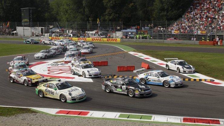 Гонка Формулы-1 на итальянской трассе