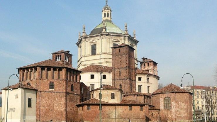 Церковь Сан-Лоренцо-Маджоре в Милане