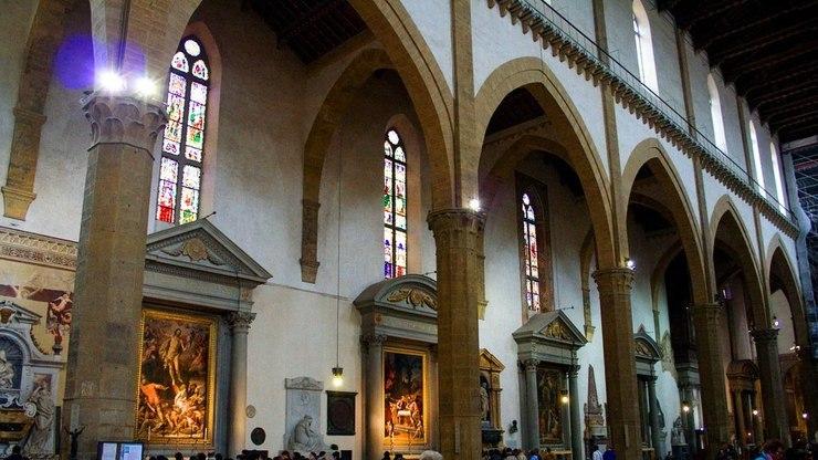 Музей в соборе Санта-Кроче во Флоренции