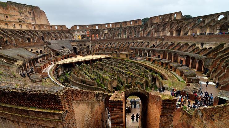 Архитектурные особенности Колизея до сих пор лежат в основе многих подобных сооружений
