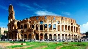 Амфитеатр Колизей в центре Рима