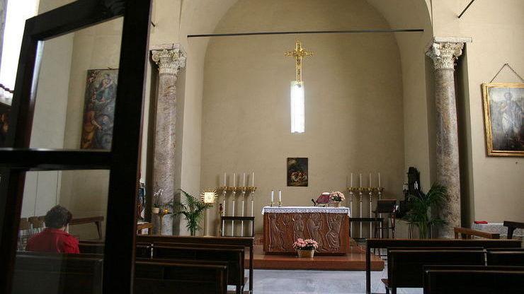 Колокольня при церкви в Милане