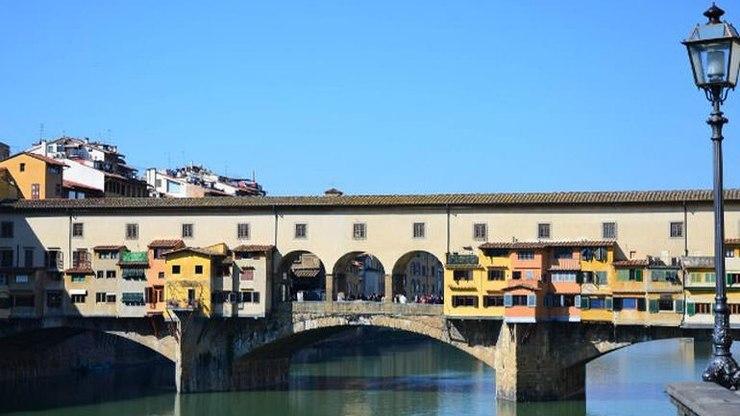 Архитектура коридора Вазари во Флоренции
