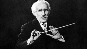 Знаменитый дирижер Артуро Тосканини, посвятивший всю свою жизнь искусству