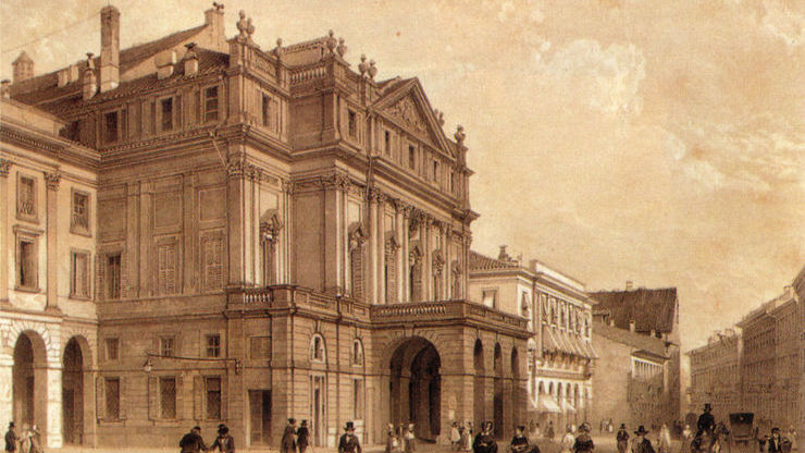 Строительство здания началось в XVIII веке