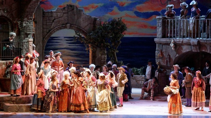 Один из спектаклей на основе знаменитой оперы