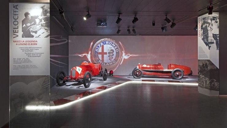 Alfa Romeo внутри
