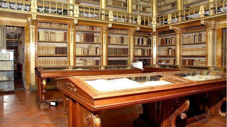 Библиотека во дворце Медичи-Риккарди
