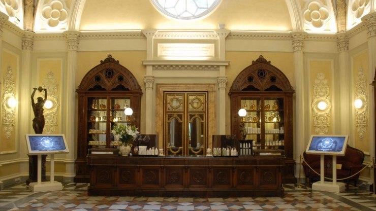 Аптека внутри церкви Санта-Мария-Новелла