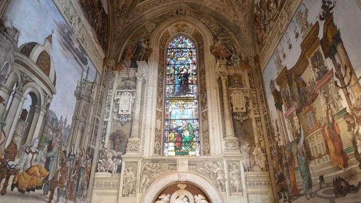 Капелла Строцци в церкви Санта-Мария-Новелла
