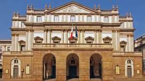 Оперный театр Ла Скала в центре Милана