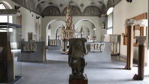 В музее скульптур представлено множество работ итальянских мастеров