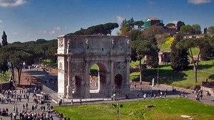 Красивая достопримечательность в Риме