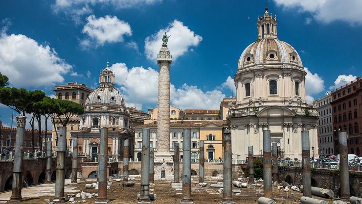 Высокая достопримечательность в Риме