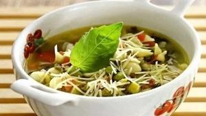 Один из самых популярных супов - минестроне
