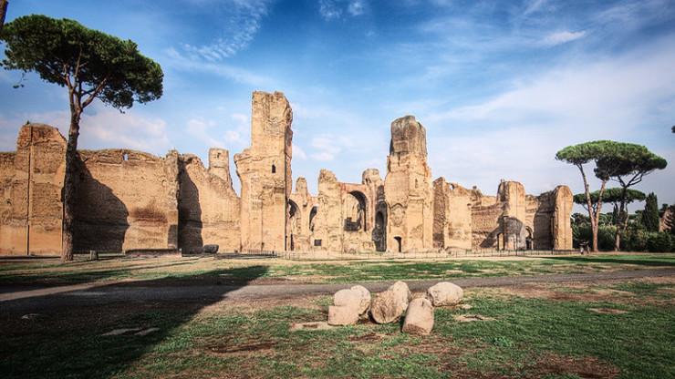 Современный облик руин Рима