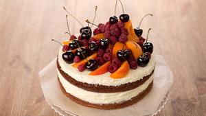 Торт с использованием сыра маскарпоне