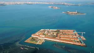 Остров в Венецианской лагуне Адриатического моря