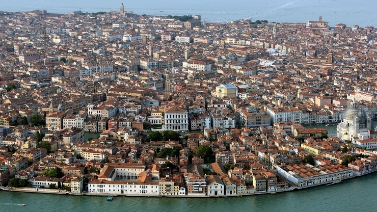 Венеция с высоты птичьего полёта