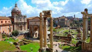 Римский форум - самое большое собрание исторически важных достопримечательностей Древнего Рима